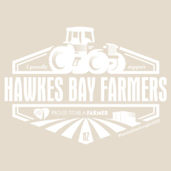 Hawkes Bay Supporters Womens Maple T-shirt Design