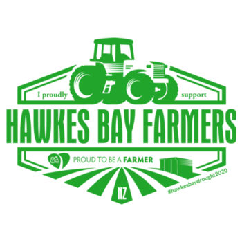 Unisex Hawkes Bay supporters Raglan T-shirt Design