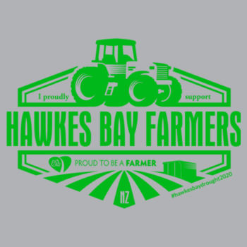 Womens V-Neck Hawkes Bay Supporters T-shirt Design