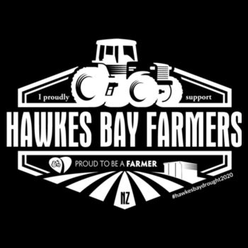 Kids Youth Hawkes Bay Farmers Supporter T-Shirts  Design